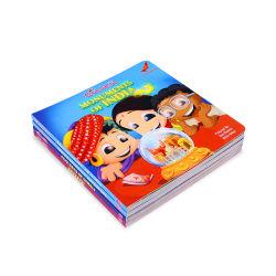 좋은 품질 싼 색깔 아이들의 두꺼운 표지의 책 책 인쇄