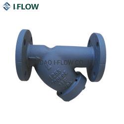 ANSI Wye-strainer verkrijgbaar met testplug, kogelafsluiter voor drain Op lichaam