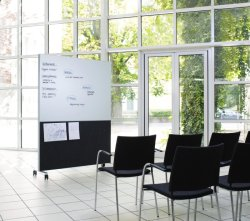 Экологичный акустический раздел ПЭТ Звукозащищенный ПЭТ акустический шум в помещении для электронной доски Плата уведомления об акустической мощности ПЭТ-системы изоляции