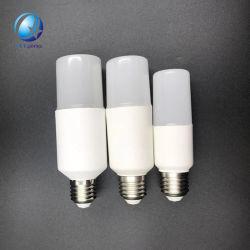 10W E27 6000K Daylight Mini-T LED Shape Stick Lâmpada de xénon