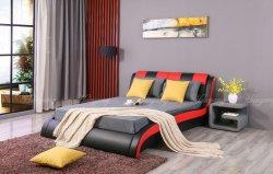 2인용 침대 주문 침대 침실 가구 PU 실내 장식품 침대 Storge 침대 성숙한 침대 현대 침대 편평한 침대 나무로 되는 침대