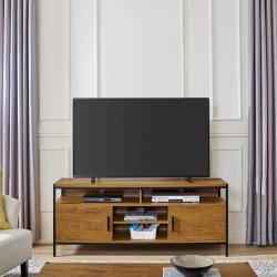 2021 nieuwe goedkope eenvoudige en moderne stijl houten tv-showcase.