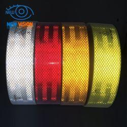 ECE 104r 00821 reflecterende tape, 3 m, rood wit/geel