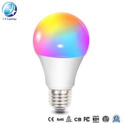 지능적인 7W E26 RGB WiFi LED 전구
