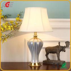 ديكور عتيق بورسيلين الصينى والسيراميك فندق كلاسيك بدسايد تابل لايت مصابيح LED للطاولة