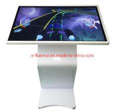 Сенсорный ЖК-дисплей с возможностью горячей замены, планшетный ПК 32-65 дюйм, интерактивные напольная подставка для настенного монтажа ЖК сенсорный экран