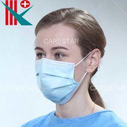 Nonwoven a gettare di alta qualità pp di prezzi all'ingrosso maschera di protezione protettiva delle 3 pieghe con Earloop, Bfe 90% 95% 99%, con il certificato del Ce, da usare una volta sola