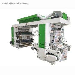 Neue High Speed / Hot Sale / Gute Qualität 4 Farben Stack Typ Flexo-/Flexodruckmaschine für Film (Changhong)