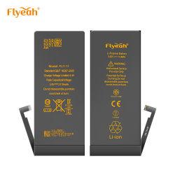 iPhone 11 3100mAh/3500mAh 충전식 휴대폰 배터리용 China Factory