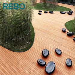 Pisos de bambú duradera revestimientos de suelos de madera compuesto