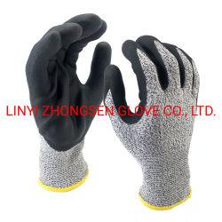 Для использования вне помещений Скалолазание Anti-Cutting перчатки класса пяти Anti-Cutting, Anti-Stabbing, Установите противоскользящие, носимый защитные перчатки из латекса продуктов по охране труда