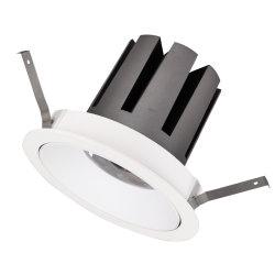 穂軸によって引込められるダイカストで形造るアルミニウム点ライト35W LED円Downlight