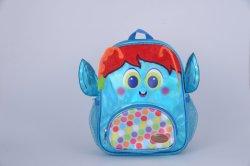 حقيبة الظهر من البولي يورثان (PU) أنيقة لحزمة الظهر للأطفال من التمهيدي حتى سن الطفلية مقاومة للماء حقيبة ظهر المدرسة كارتون 3D Schoolbag