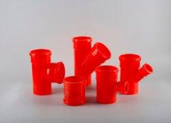 Rosca de PP molde de inyección de núcleo plegables accesorios para tuberías