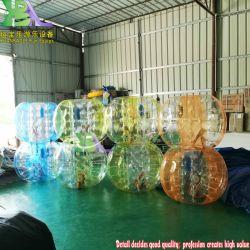 1m gonflable Équipement de sport du corps humain durable en extérieur batteur de soccer de bille de la bulle