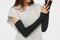 スポーツのための氷の絹が付いている熱い販売アーム袖の氷の袖