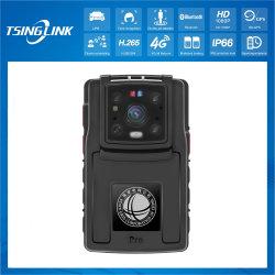 AI 1080p Video Talkback Law Impath Recorder Face Recognition LPR كاميرا ذكية يمكن ارتداؤها على الجسم من قبل الشرطة