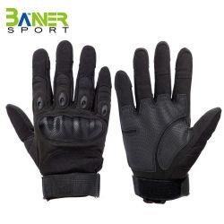 熱い販売法カーボンファイバーの軍の戦術的な安全スポーツの手袋