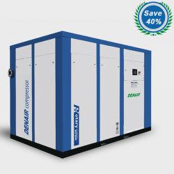 0.5-500 M3/min 2-40 bar Industriële energiebesparing Elektrische stationaire Direct Aangedreven/gekoppelde roterende schroefluchtcompressoren met luchtdroger en tank (ISO&CE)