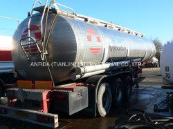 3 Achsen Öl-Kraftstoff-Tank Lkw-Anhänger Liquid Container Bulk Schiffe Straße Verteilung Traktor Anhänger Heavy Duty Drum Utility Semi Anhängertanker (LR9330/9400GYY)