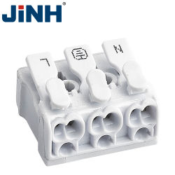 Conectable en Quick Fast Connect Bloques de terminales de cable de alimentación LED