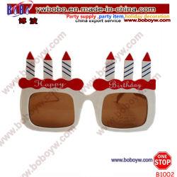 Occhiali promozionali del regalo di compleanno di buon compleanno di Sunglass della decorazione di festa (B1002)