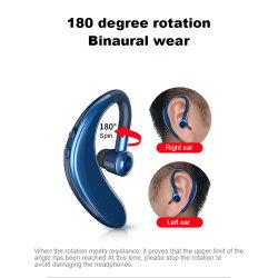 duração da bateria de standby Super Longa do fone de ouvido para pendurar digite true esportes sem fio chamada de telefone móvel de condução tampões de ouvido mono apto