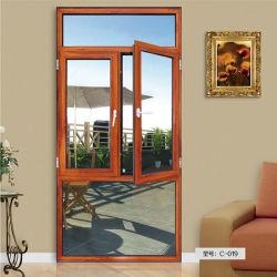 Ventana de madera de teca de aluminio puertas y ventanas de madera de diseño El diseño del bastidor