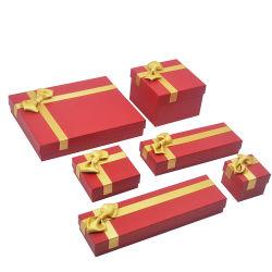 高品質のペーパー宝石類の荷箱の方法ギフトの宝石類のパッキング一定ボックス