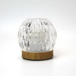 [بورتبل] أبيض [أوسب] مصغّرة نكهة مروحة مع تغذية زجاجيّة وزاهية خفيفة مصباح ناشر