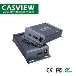 Le HDMI Extender avec télécommande infrarouge IR Controlup à 150m sur TCP/IP avec le soutien de l'extracteur audio 1080p les récepteurs en cascade par CAT5 CAT CAT5e6 HDMI câble LAN RJ45