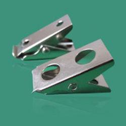 Abzeichen-Klipp Identifikation-Karten-Bescheinigungs-Halter mit 2 Loch-Metallclip
