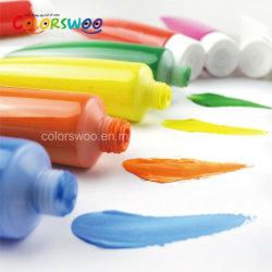 Não tóxico Artista de alta qualidade à base de água tinta acrílica para crianças para a fábrica de pintura de arte