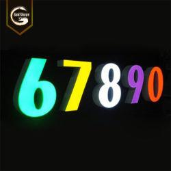 Custom высокое качество Водонепроницаемый светодиодный индикатор 12неоновые лампы для входа-0411