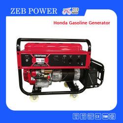 Zeb portátiles de alimentación Generadores gasolina Powered by Honda Motor con 4 ruedas sólidas y fuera de la batería