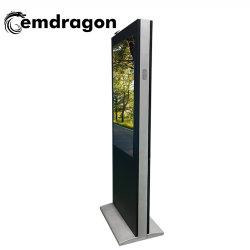L'écran Vertical Wind-Cooled Publicité de plein air de la machine d'atterrissage 55 inch écran tactile sans fil d'affichage photo numérique