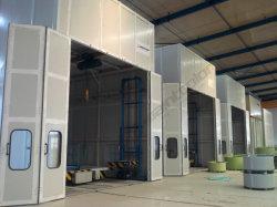 Ce approuvé 15m Big Bus cabine de pulvérisation de peinture grand stand