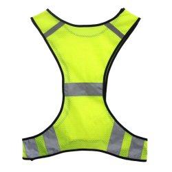 Светоотражающие работает безопасности Майка одежда для мужчин и женщин для работы в ночное время