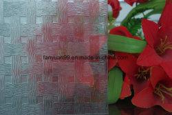 3mm 플로리파 갈스 웨이브, 5월 꽃 패턴 유리 1830 * 1220