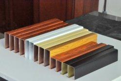 Het hete Plafond van het Schot van het Aluminium van de Korrel van de Goede Kwaliteit van de Ontwerpen van de Verkoop Houten
