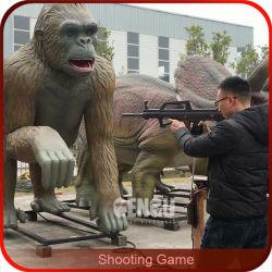 Jogo de tiro Animatronic Gorila Jogo de entretenimento