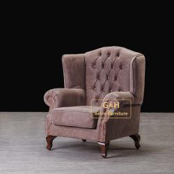 Il vento americano del granaio che ripristina i modi antichi, sofà creativo del salone di industria del sofà di legno solido il caffè esclude la presidenza del sofà