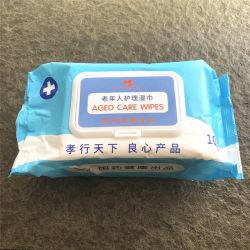 100 pacientes con recuentos de limpieza del cuerpo las toallitas húmedas Toallitas de enfermería de Atención Médica