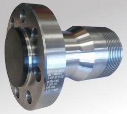 drawings의 스테인리스 바람 터빈 터보 탑 플랜지를 기계로 가공하는 정밀도 CNC