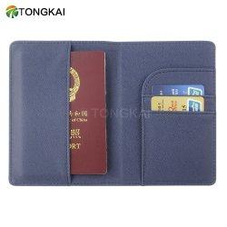 Imprinting simples Slot de cartão interno personalizado PU titular do passaporte