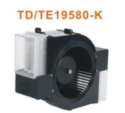 Ventilatore centrifugo del ventilatore dello scarico di EC 24V 220VAC di CC di Toyon per il riscaldatore del bagno/scaldino della stanza da bagno