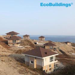 Russland-niedrige Kosten-freier Entwurf fabrizierte Hauptc$zink-aluminium gelegierte Stahlfertighaus-Wind-Energie für Häuser vor
