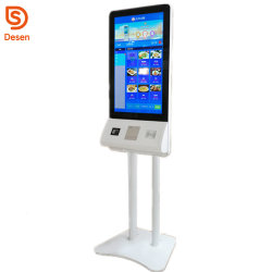 Gaststätte 32 Zoll-Selbstservice-bestellenzahlungs-Kiosk-Touch Screen