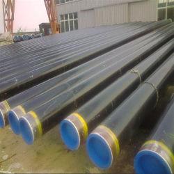 3PE Pipeline de revêtement des tuyaux en acier avec capuchon en plastique