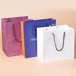 تاجر الجملة هدية حقيبة تخصيص الملابس التغليف حقيبة النبيذ التسوق المخصص حقائب ورقية